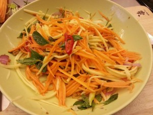 6.Mango salad